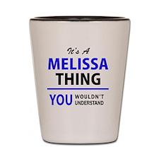 Cute Melissa Shot Glass