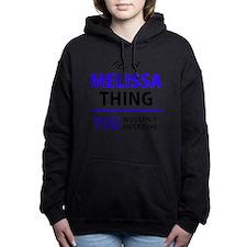 Cute Melissa Women's Hooded Sweatshirt