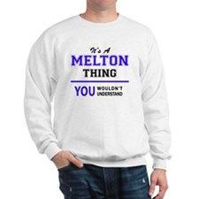 Cute Melton's Sweatshirt