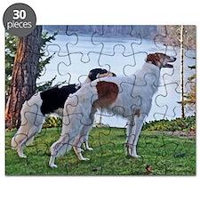 The Lake Borzoi Duo Puzzle