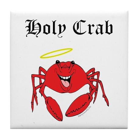Holy Crab Tile Coaster