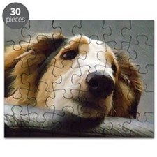 Borzoi Contemplation Puzzle
