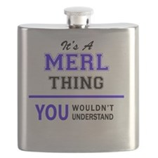 Cool Merl Flask