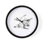 Injun Scribe Wall Clock