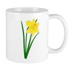 Yellow Daffodil Mugs