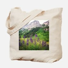 Crested Butte Wildflowers - Purple Tote Bag