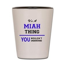 Cute Miah Shot Glass