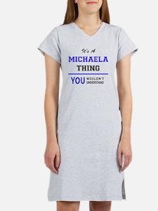 Cute Michaela Women's Nightshirt