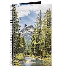 Mountain River Scene Journal