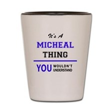 Cute Micheal Shot Glass