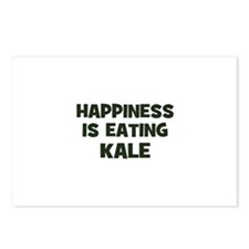happiness is eating kale Postcards (Package of 8)