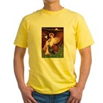 Angel #1/Rottweiler Yellow T-Shirt