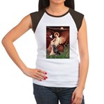 Angel #1/Rottweiler Women's Cap Sleeve T-Shirt