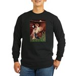 Angel #1/Rottweiler Long Sleeve Dark T-Shirt