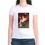 Angel #1/Rottweiler Jr. Ringer T-Shirt