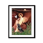 Angel #1/Rottweiler Framed Panel Print