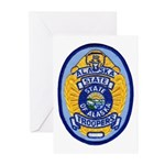Alaska State Troopers Greeting Cards (Pk of 10