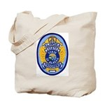 Alaska State Troopers Tote Bag
