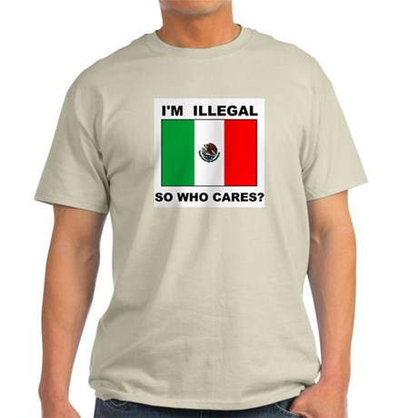 ILLEGAL WHO CARES Light T-Shirt