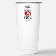 Unique Hockey player Travel Mug