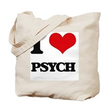I Love PSYCH Tote Bag
