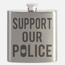 Support Our Police Flask