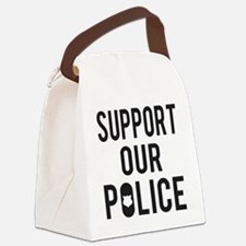 Support Our Police Canvas Lunch Bag