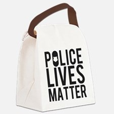 Police Lives Matter Canvas Lunch Bag