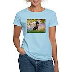 Garden / Rottweiler Women's Light T-Shirt