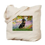 Garden / Rottweiler Tote Bag