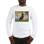 Garden / Rottweiler Long Sleeve T-Shirt