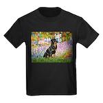 Garden / Rottweiler Kids Dark T-Shirt