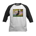 Garden / Rottweiler Kids Baseball Jersey