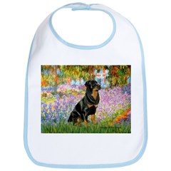 Garden / Rottweiler Bib