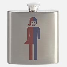 Ladyboy / Tomboy Toilet Thai Sign Flask