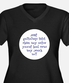 The Squinting Test Plus Size T-Shirt