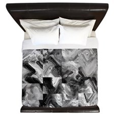Awesome marble tiles King Duvet
