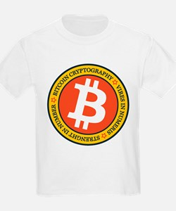 Full Color Bitcoin Logo with Motto T-Shirt