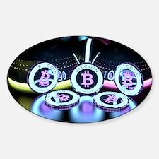 Bitcoin Tron Design Decal