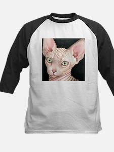 Cat 412 sphynx Baseball Jersey