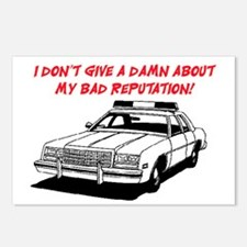DON'T GIVE A DAMN Postcards (Package of 8)