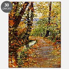Egon Schiele - Winding Brook Puzzle