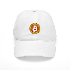 Full Color Bitcoin Logo with Motto Baseball Cap