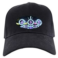 Bitcoin Tron Design Baseball Hat