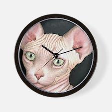 Cat 412 sphynx Wall Clock