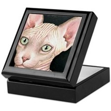 Cat 412 sphynx Keepsake Box