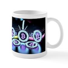 Bitcoin Tron Design Mugs