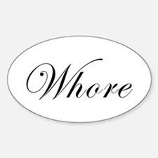 Whore Decal