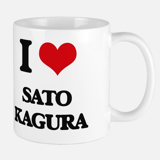 Unique I heart kagura Mug