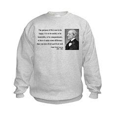 Ralph Waldo Emerson 17 Sweatshirt